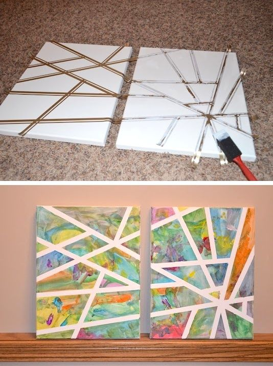 Arts And Craft Ideas For Kids Part - 46: Easy Art U0026 Craft Ideas To Make